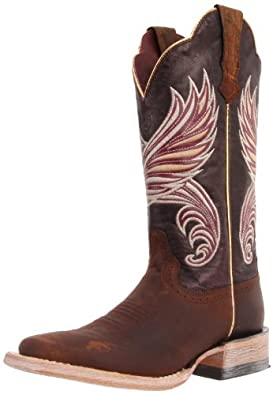 Ariat Women's Fortress Boot,Weathered Brown/Purple Marble,5.5 M US