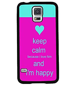 Fuson 2D Printed Quotes Designer back case cover for Samsung Galaxy S5 Neo - D4291