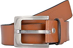 Western Lifestyles Men's Belt (WBL005, Brown, Medium)