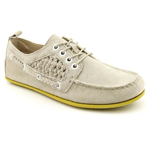 Luxury Rebel Yukon Moc Boat Shoes Gray Womens