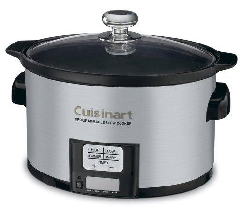 Digital Slow Cookers: Cuisinart PSC-350 3-1/2-Quart Programmable Slow Cooker
