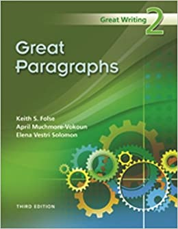 Great writing 3 from great paragraphs to great essays 3rd edition