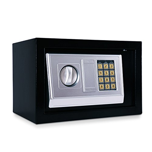 Hoddmimis Home and Office Digital Safe Box for the Valuables Black 20EA (Safety Boxes Fireproof compare prices)