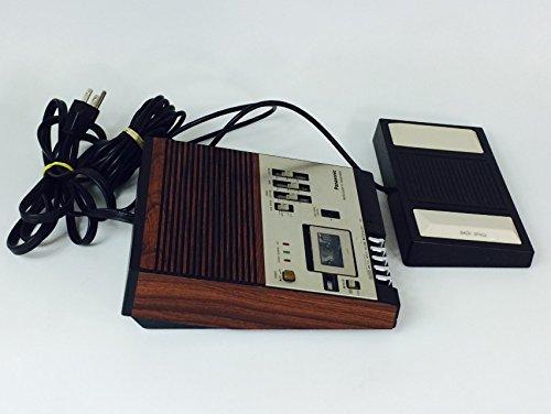 panasonic microcassette transcription machine