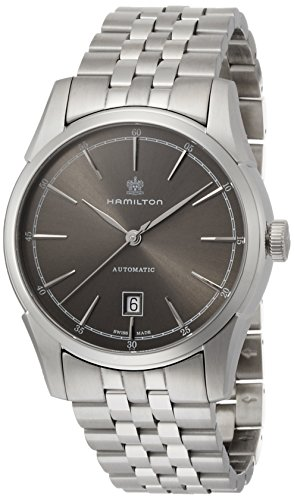 Hamilton Espíritu de Liberty Gris Dial Acero inoxidable reloj para hombre h42415091