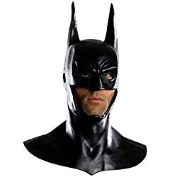 Arkham City Deluxe Batman Cowl Mask Costume