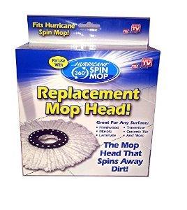 Hurricane 360 Spin Mop Replacement Head Home Garden