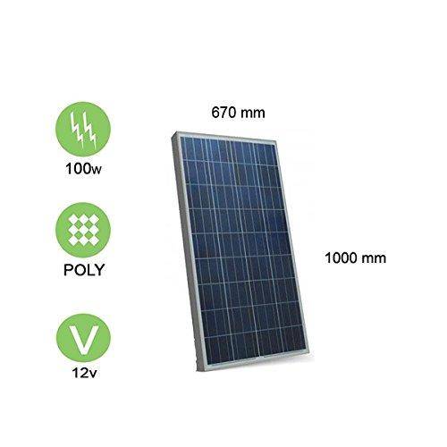 panneau solaire 100w 12v polycristallin victron energy 176 46. Black Bedroom Furniture Sets. Home Design Ideas
