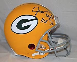 Jim Taylor Autographed Helmet - F S ProLine - JSA Certified - Autographed NFL Helmets