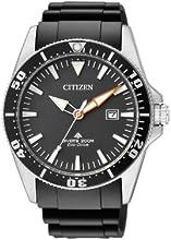 Comprar Citizen BN0100-42E - Reloj analógico de cuarzo para hombre, correa de poliuretano color negro