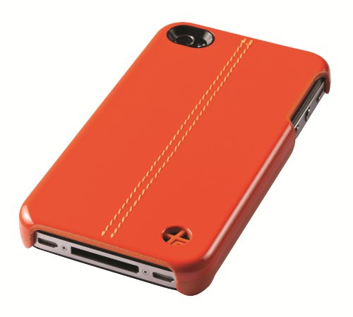 Trexta 10498 Snap On Classic Series for iPhone 4/4S - 1 Pack - Retail Packaging - Orange