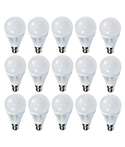Paracops-9W-White-LED-Bulb-(Pack-of-15)