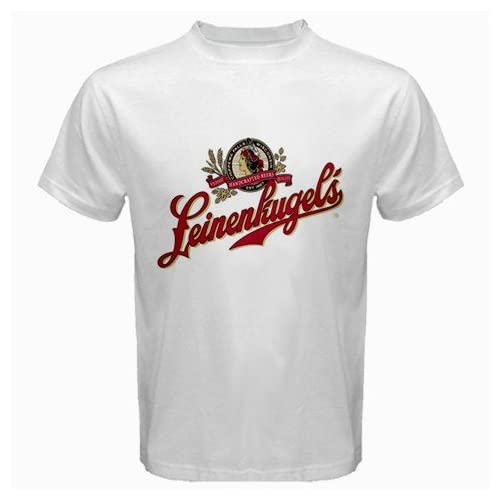 "Amazon.com: Leinenkugel Beer Logo New White T-Shirt Size "" S, M ,L"