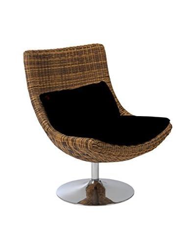 Eurostyle Fenia Swivel Chair, Taupe