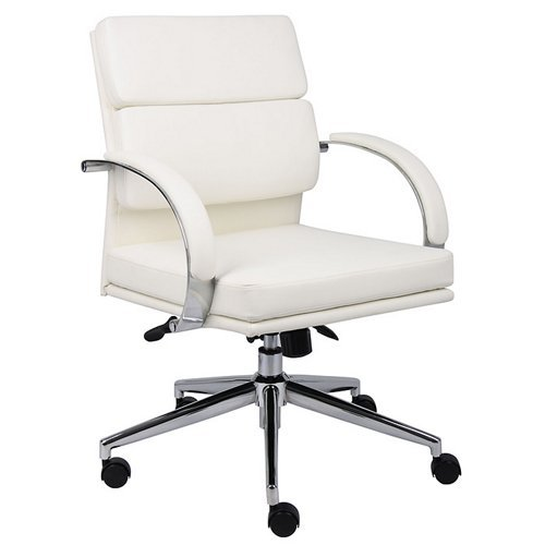 Boss B9406-WT Caressoftplus Executive Series Chair