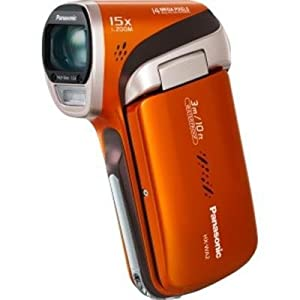 Panasonic HX-WA2 Waterproof Full HD Camcorder (Orange) HX-WA2D