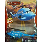 Disney Pixar World of Cars - New Style Dinoco Helicopter
