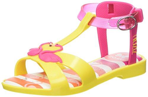 ZaxyZizou - Sandali  da ragazza' , Giallo (Yellow (Yellow Flamingo)), 30 EU
