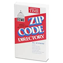 Dome Zip Code Directory, Paperback, 750 Pages (5100)