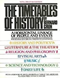 The Timetables of History: A Horizontal Linkage of People and Events, Based on Werner Stein's Kulturfahrplan (0671249878) by Grun, Bernard