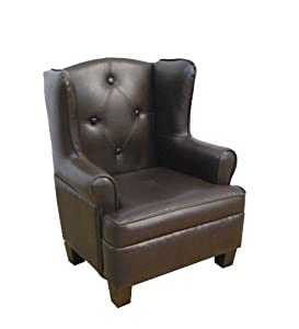 Kinfine USA Wing Back Chair by Kinfine USA Inc.