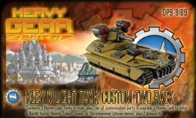 Heavy Gear: North Klemm Light Tank Two Pack