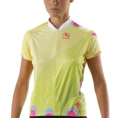 Buy Low Price Giordana Women's Butterfly Short Sleeve Cycling Jersey – Green – gi08-wssj-arts-btfl (B0015ZIZLA)