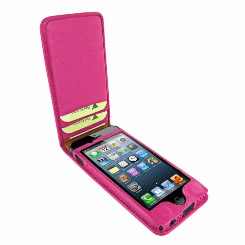 Special Sale Apple iPhone 5 / 5S Piel Frama Pink Magnetic Leather Cover