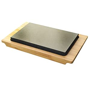 Typhoon Hot Stone and Bamboo Serving Set by Typhoon