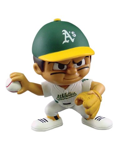 MLB Oakland Athletics Lil' Teammates Pitcher 1 6 scale scene annex mr z neapolitan mastiff 001 black dog collar set tabby animal model fit 12 inch action figure doll toys