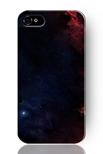 Sprawl New Fashion Design Hard Skin Case Cover Shell For Mobile Phone Apple Iphone 5 5S--Dark Space Universe Sky Pattern