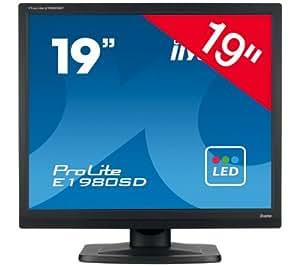 """IIYAMA ProLite E1980SD-B1 schermo LED da 19"""" - nero"""