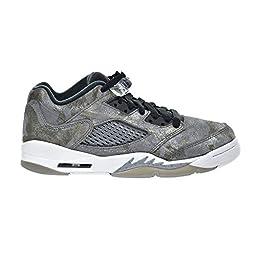 Air Jordan 5 Retro Prem Low GG Big Kid\'s Shoes Cool Grey/Wolf Grey/White/Black 819951-003 (7.5 M US)