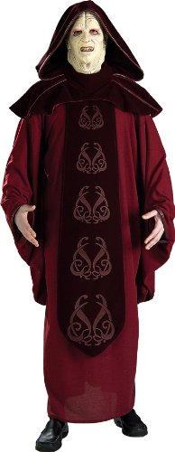 Rubie's Costume Men's Star Wars Supreme Edition Adult Emperor Palpatine and Mask, Multicolor, Standard