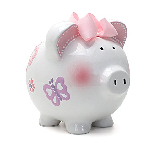 Child to Cherish Piggy Bank, Butterfly
