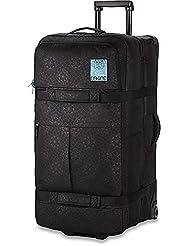 sac de voyage a roulettes femme split 100l houndstooth