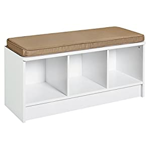 Amazon Com Closetmaid 1569 Cubeicals 3 Cube Storage Bench