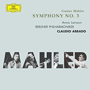 Mahler Symphony No3 from Deutsche Grammophon