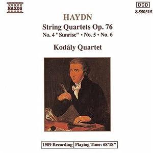 Qrt String Op 76 Nos. 4-6