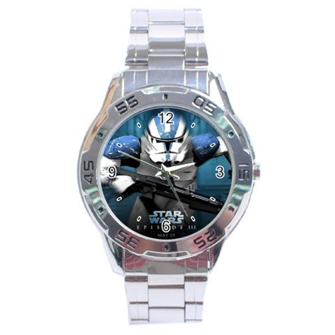 Star Wars Graphic Stainless Steel Analogue Men's Watch