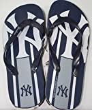 New York Yankees MLB Unisex Big Logo Flip Flops