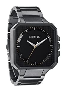 Nixon Quartz Platform Square Black Dial Men's Watch A272-680