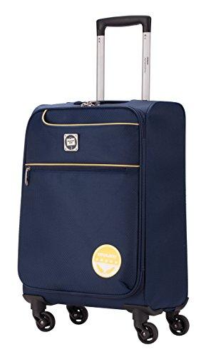 MITTE light Handgepäck Koffer Weichgepäck Trolley, 50 cm, 33 Liter, Blau