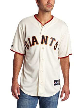 MLB San Francisco Giants Buster Posey Ivory Home Replica Baseball Jersey, Ivory by Majestic