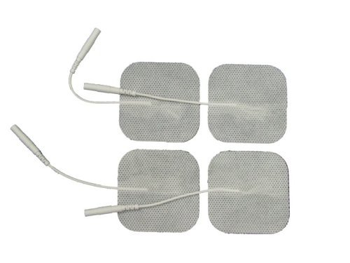 Premium Pre-Gelled TENS Unit 20 Packs of 4 Electrode Pads 1.75 x 1.75 Inches