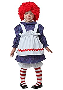 Little Girls' Toddler Little Rag Doll Costume