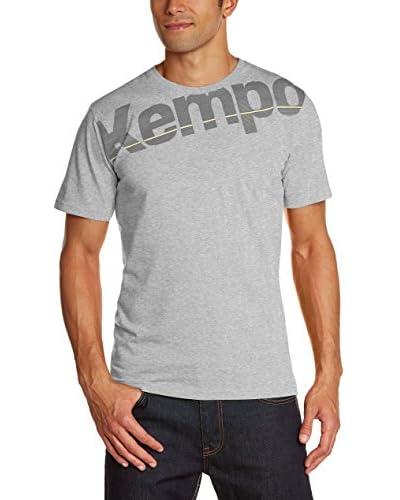 Kempa Camiseta Manga Corta Core Gris Jaspeado