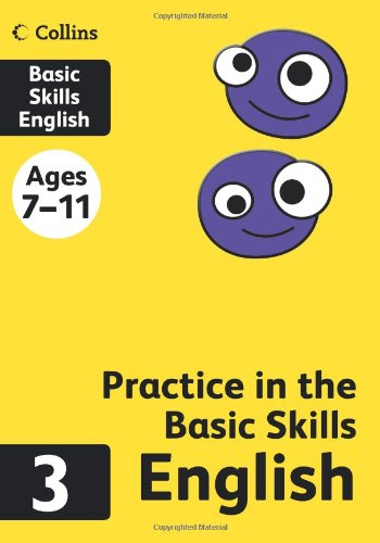 Collins Practice in the Basic Skills - English Book 3