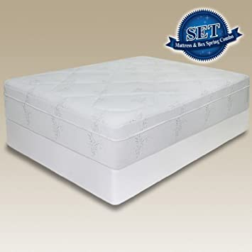 68 89 12 Sleep Master Pressure Relief Memory Foam Mattress Bi