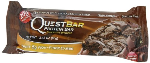 Quest 12-Pack Nutrition Protein Bars, Chocolate Brownie